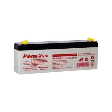Power-Xtra 12V 2.3 Ah Sealed Lead Acid Battery