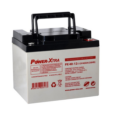 Power-Xtra 12V 40 Ah Sealed Lead Acid Battery