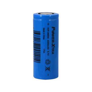 Power-Xtra ICR26650 Li-ion 3.7V 4000mAh Rechargeable Battery-5A