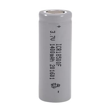 Power-Xtra 18500 3.7V 1400 Mah Li-ion Rechargeable Battery