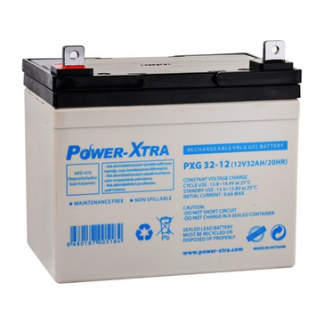 Power-Xtra 12V 32Ah Sealed Gel Battery