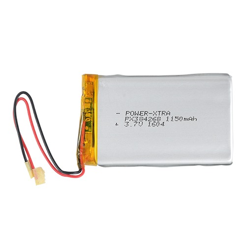 Power-Xtra PX384268 1150mAh   Li-Polymer Battery