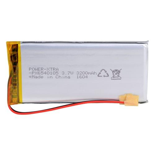 Power-Xtra PX6540105 3200 mAh Li-Polymer Battery