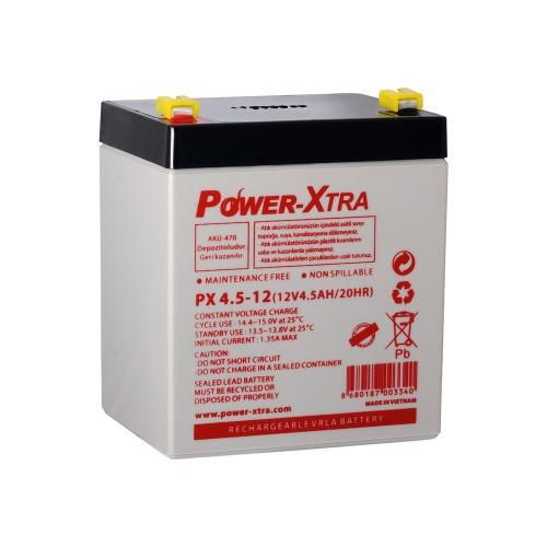 Power-Xtra 12V 4.5 Ah Sealed Lead Acid Battery